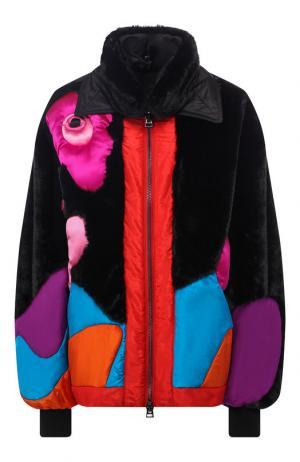 Утепленная куртка с воротником-стойкой Tom Ford. Цвет: разноцветный