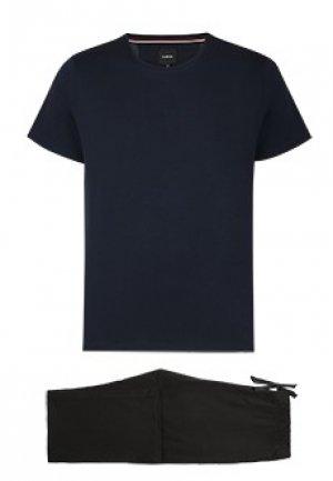 Пижама STRELLSON. Цвет: синий
