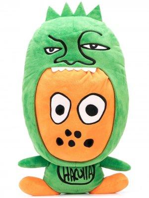 Мягкая игрушка Grizzly Haculla. Цвет: зеленый