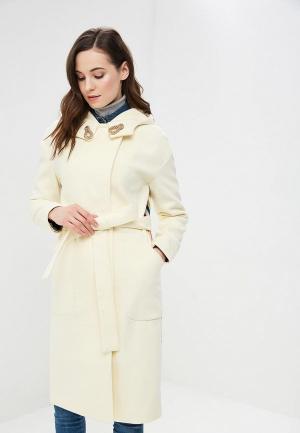 Пальто Grand Style. Цвет: бежевый