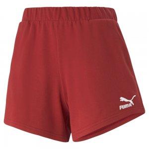 Шорты Classics High Waist Womens Shorts PUMA. Цвет: серый