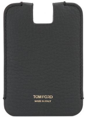 Визитница с глубоким отделением Tom Ford. Цвет: чёрный