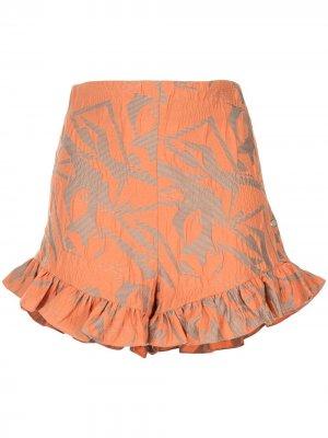 Ibana frilly shorts Alexis. Цвет: оранжевый