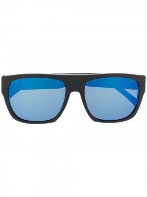 Солнцезащитные очки 0893 в квадратной оправе L.G.R. Цвет: черный