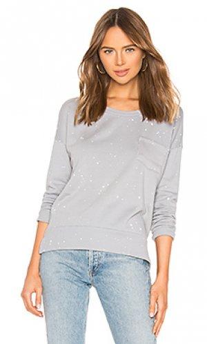 Пуловер muse LA Made. Цвет: серый