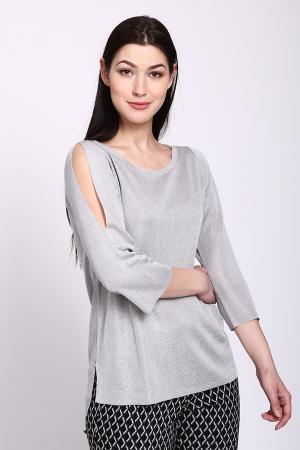 Пуловер Betty and Co. Цвет: серый