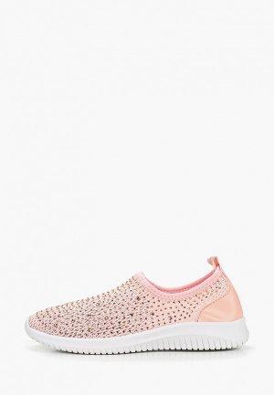 Слипоны L.Day. Цвет: розовый