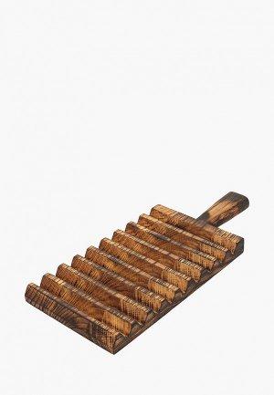 Доска разделочная Svahomeart 15х35 см. Цвет: коричневый