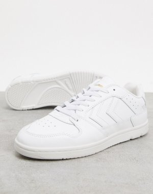 Белые кроссовки Hive Power Play-Белый Hummel