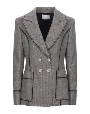 Пиджак PETER PILOTTO. Цвет: свинцово-серый