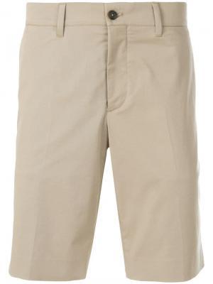 Классические брюки-чинос Prada. Цвет: нейтральные цвета