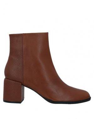 Полусапоги и высокие ботинки APEPAZZA. Цвет: коричневый