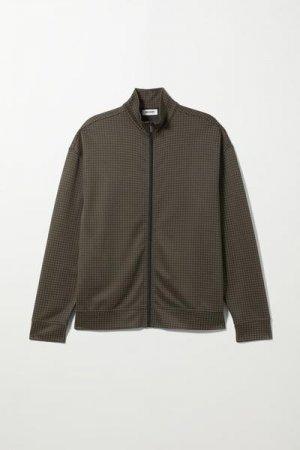 Спортивная куртка Elias Weekday. Цвет: черный, зеленый