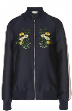 Куртка-бомбер Stella McCartney. Цвет: темно-синий