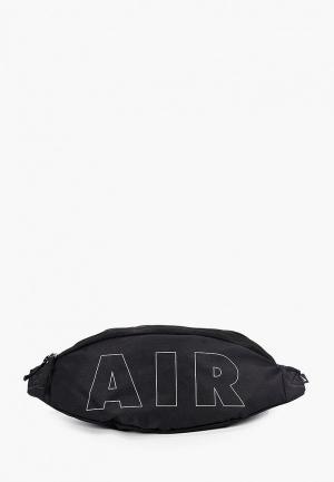 Сумка поясная Nike NK HERITAGE HIP PACK-2.0 NKAIR. Цвет: черный