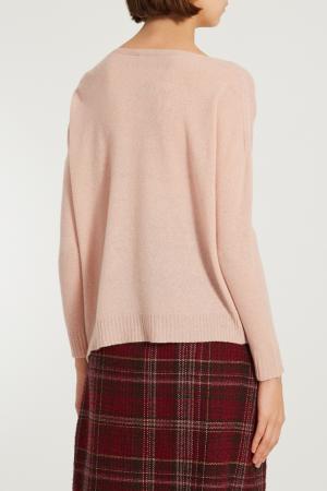 Свободный розовый пуловер L'EDITION. Цвет: розовый