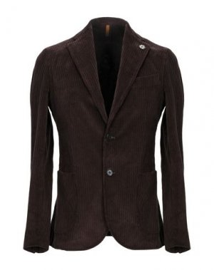 Пиджак GABARDINE. Цвет: темно-коричневый