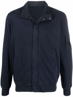 Lightweight zipped jacket C.P. Company. Цвет: синий