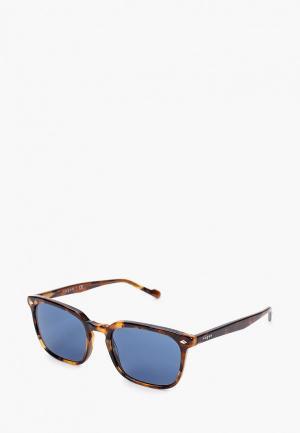 Очки солнцезащитные Vogue® Eyewear VO5347S 281980. Цвет: коричневый