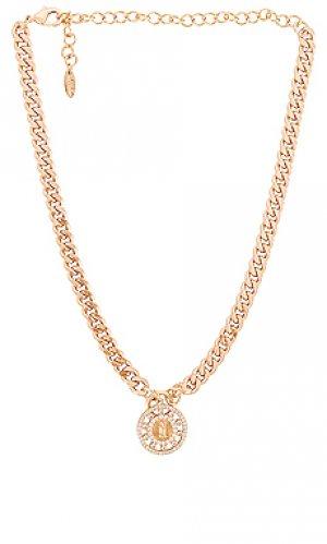 Ожерелье pendant Ettika. Цвет: металлический золотой