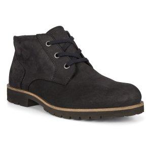 Ботинки JAMESTOWN ECCO. Цвет: черный
