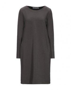 Платье до колена EUROPEAN CULTURE. Цвет: свинцово-серый