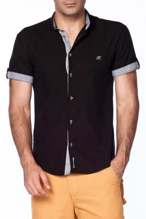 Рубашка Harrison. Цвет: черный