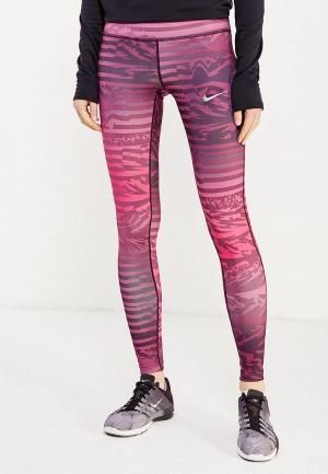 Тайтсы Nike NI464EWUHE51. Цвет: розовый