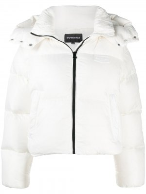 Куртка-пуховик на молнии Duvetica. Цвет: белый