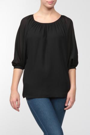 Блузка Caractere. Цвет: черный