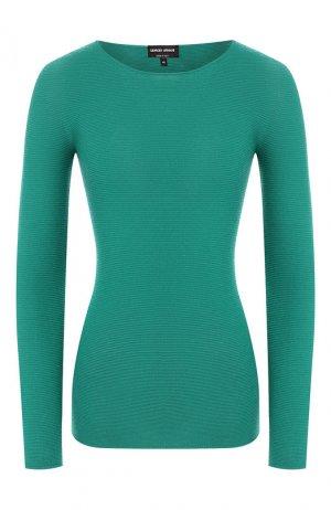 Пуловер Giorgio Armani. Цвет: зеленый