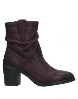 Полусапоги и высокие ботинки CAFèNOIR. Цвет: красно-коричневый
