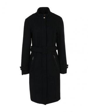 Пальто SELECTED FEMME. Цвет: черный