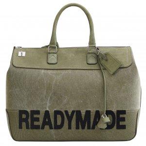 Дорожная сумка зеленого цвета Readymade