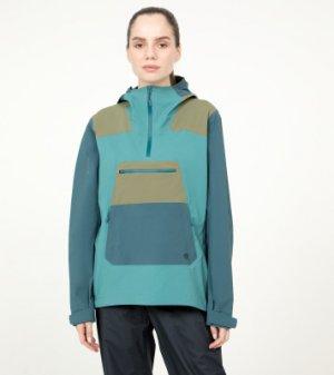 Ветровка женская Exposure/2™ Gore-Tex® Paclite Stretch, размер 46 Mountain Hardwear. Цвет: голубой