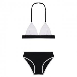 Раздельный купальник La Perla. Цвет: чёрно-белый