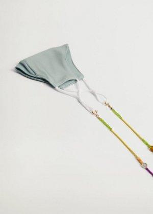Многофункциональная цепочка с бусинами - Elliot Mango. Цвет: золото
