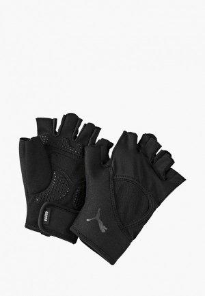 Перчатки для фитнеса PUMA TR Ess Gloves Up. Цвет: черный