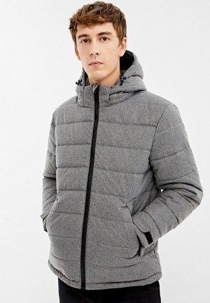 Куртка утепленная Springfield. Цвет: серый