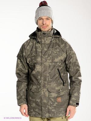 Куртка AG ANTHEM JK Analog. Цвет: хаки, темно-серый