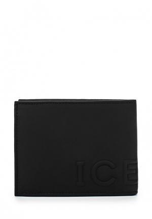 Портмоне Iceberg. Цвет: черный