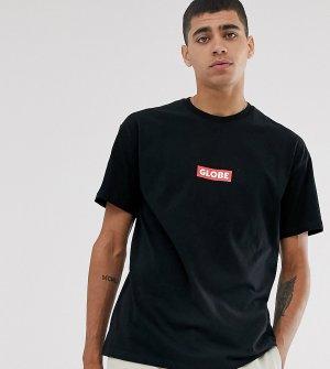 Черная футболка с логотипом -Черный Globe