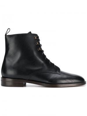 Ботинки Glasgow на шнуровке Michel Vivien. Цвет: черный