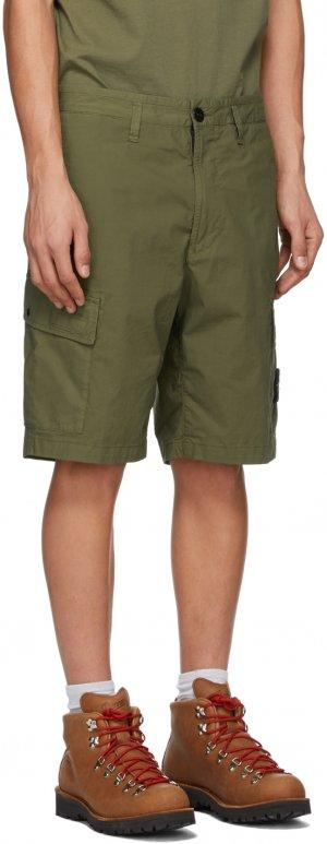 Khaki Bermuda Shorts Stone Island. Цвет: v0058 olive