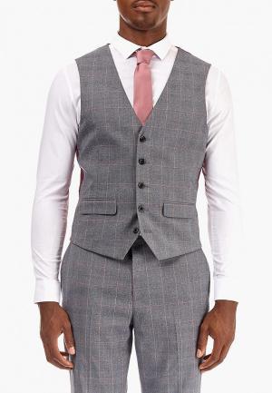 Жилет Burton Menswear London BU014EMCOBS7. Цвет: серый