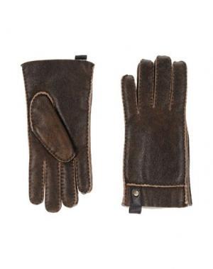 Перчатки UGG AUSTRALIA. Цвет: хаки