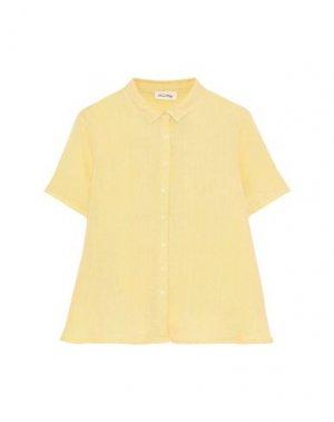 Pубашка AMERICAN VINTAGE. Цвет: желтый