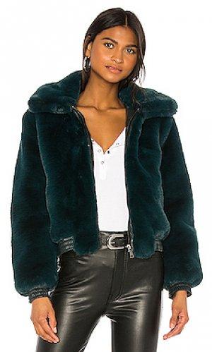 Куртка maverick David Lerner. Цвет: темно-зеленый