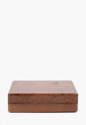 Шкатулка для украшений Мастер Рио. Цвет: коричневый