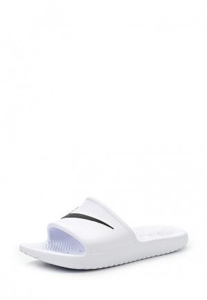 Сланцы Nike WOMENS KAWA SHOWER SANDAL. Цвет: белый